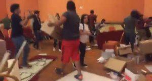 Zafarrancho en hotel MM de Puebla por presunto material electoral ilegal