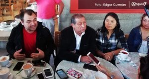 Líder comerciante de San Martin hostiga a organización y pide cuotas, acusan