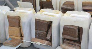 Cocaína viaja por mar: Colombia asegura 748 kilos en submarino