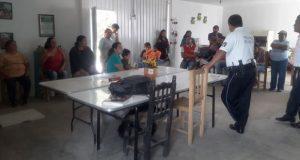 Capacitan en prevenir delitos a vecinos del norte de Puebla capital
