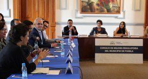Ayuntamiento de Puebla cumple con metas de mejora regulatoria