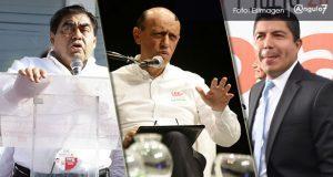 INE exonera a Barbosa, Lastiri y Eduardo Rivera de exceder gasto de campaña