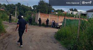 En cateos en Puebla y Cuautlancingo, aseguran a 8 y pipa con gas LP