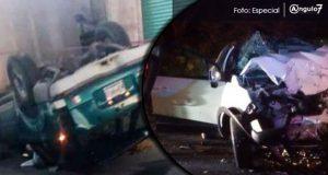 Dos choques en menos un día en carreteras de Puebla dejan cinco muertos