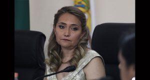 INE, sin notificar a IEE sobre remoción; se defenderá: Claudia Barbosa