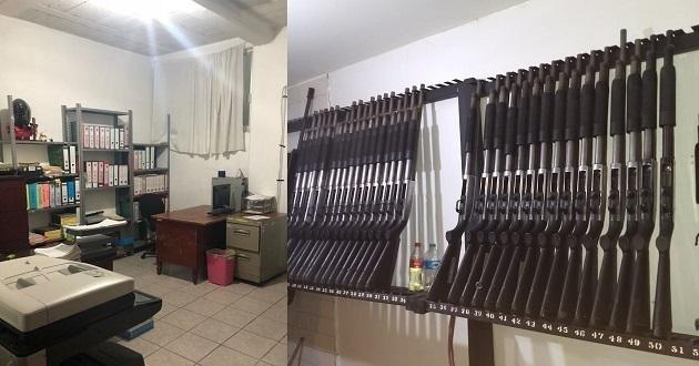 FGE catea comandancia de Tehuacán tras descubrirse 23 policías falsos