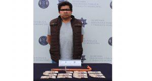 Robó en motel de Puebla donde trabajaba, pero fue detenido