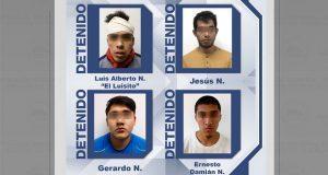 """Dan prisión preventiva a """"El Luisito"""" y 3 cómplices de su banda"""