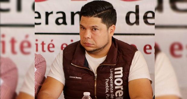 Biestro confirma que nueva dirigencia de Morena se retrasaría