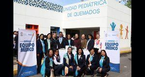 Hospital del Niño Poblano recibe equipo médico con costo de 800 mp