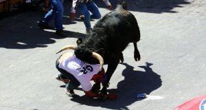 """Siete heridos por """"Huamantlada"""" en Tlaxcala; están hospitalizados"""