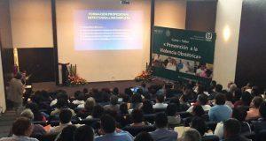 IMSS-Prospera sensibiliza sobre violencia obstétrica en Puebla