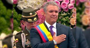 Iván Duque toma posesión como nuevo presidente de Colombia