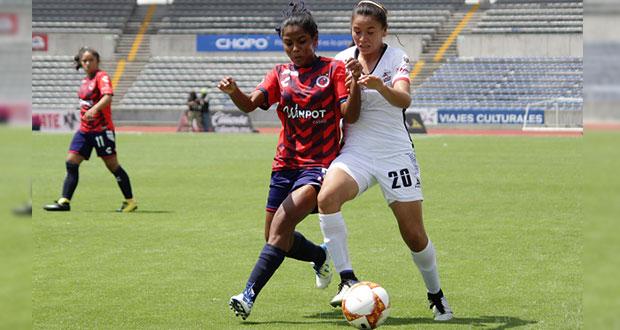 Lobos BUAP Femenil cae ante Veracruz y pierde el invicto en casa