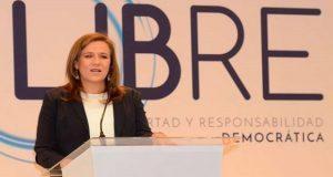 Zavala presenta su ONG y niega que busque ser partido político