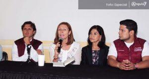 Barbosa ganó en Puebla y tiene respaldo de Morena, asegura Tatiana Clouthier