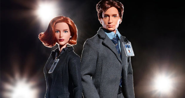 Muñecas Barbie de Scully y Mulder, en 25 aniversario de The X Files