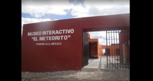 """Inaoe remodelará museo """"El Meteorito"""" en San Luis Potosí"""