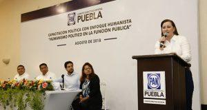 Martha Erika pide a panistas electos seguir crecimiento de Puebla