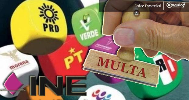 PRD, PVEM y PES impugnan multas impuestas por INE por omitir gastos de campaña