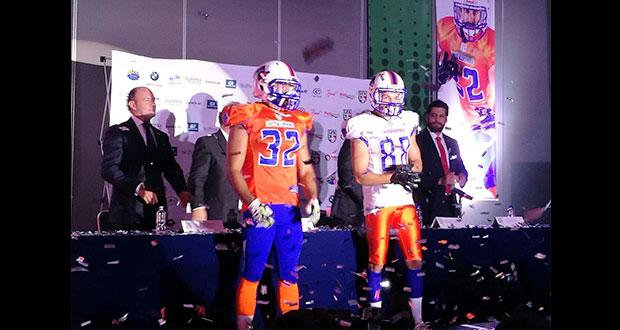 Presentan a Artilleros de Puebla, como el nuevo equipo de Futbol Americano