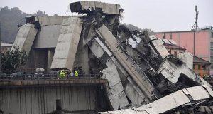 Al menos 35 muertos deja derrumbe de puente antiguo en Italia