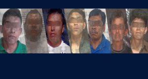 SSP detiene a nueve personas en Puebla capital y Jalpan