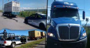 En distintas acciones, SSP recupera 14 vehículos y 2 remolques