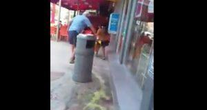 Sujeto rocía ácido para correr de Oxxo a niña indígena en Cancún