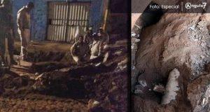 Huachicoleros ordeñan ductos de Pemex en Xochimehuacan desde túnel subterráneo
