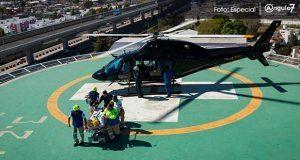 Uso de helicópteros, para uso de seguridad, principalmente: Gali