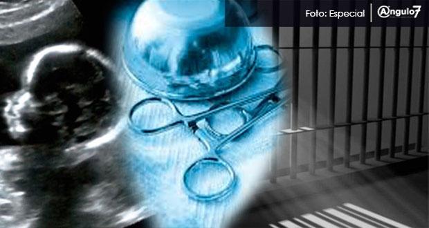 Aborto en Puebla se castiga con 5 años de prisión