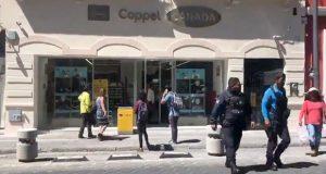 Sujetos armados roban celulares de Coppel en el Centro Histórico