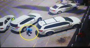 En video, exhiben nueva modalidad de asalto afuera de plaza Mazarik