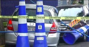 Dan prisión preventiva a policía de CDMX por matar a automovilista