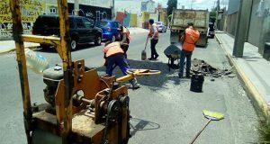 Bachetón atiende reportes en colonias y juntas del sur de Puebla