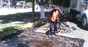 Bachetón 4.0 rehabilita calles de ocho colonias de Puebla capital