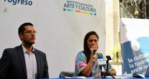 Becarios del Imacp presentan proyectos de innovación artística