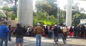 Habitantes de Tlalpan, en CDMX, bloquean 2 horas la México-Cuernavaca