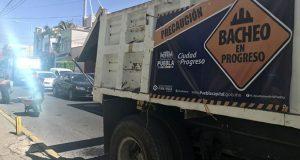 Bachetón 4.0 rehabilita calles de 6 colonias y una junta auxiliar