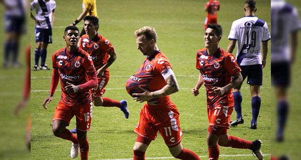 Club Puebla un desastre; cae ante Veracruz
