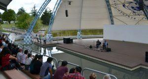 Grupo Mexicanto ofrece concierto en Concha Acústica de la BUAP