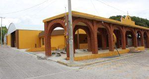 Construyen juzgado de paz y auditorio en Rancho Chico de Ixcaquixtla