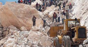 Confirman 4 muertos por derrumbe en mina de mármol en Hidalgo
