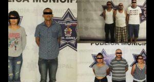 Por homicidio de 11 personas, detienen a 8 sujetos en Ciudad Juárez