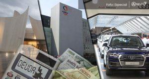 Gobierno de Puebla apenas ha pagado 14.5% por MIB, CIS y plataformas Audi
