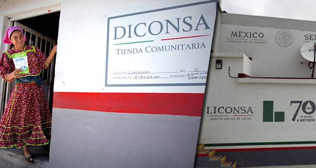 Diconsa y Liconsa se fusionarán para asegurar canasta básica: AMLO