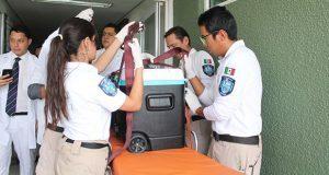 Donarán a 5 personas órganos de oficial fallecida tras choque: IMSS