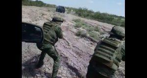 En video, resaltan desarme de criminales por militares en Tamaulipas