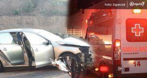 Accidentes viales durante fin de semana en Puebla dejan siete muertos